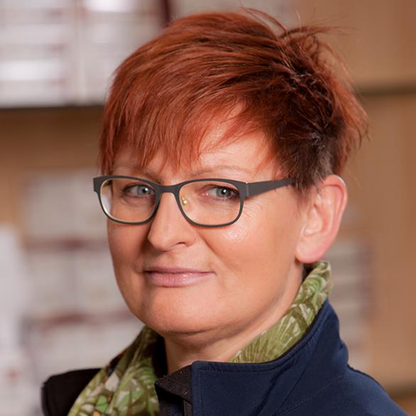 Gaby Lanfer Sanitätshausfachverkäuferin, Filiale Boltenhof